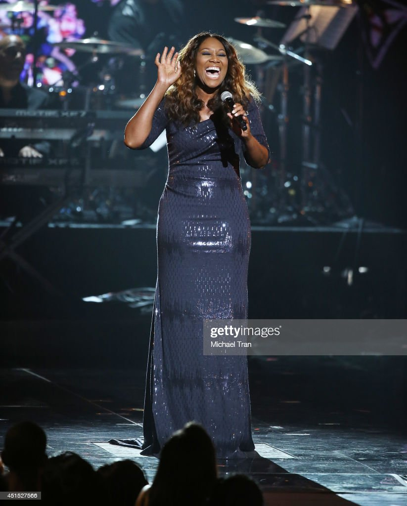 Yolanda Adams performs onstage during the 'BET AWARDS' 14 held at Nokia Theater L.A. LIVE on June 29, 2014 in Los Angeles, California.