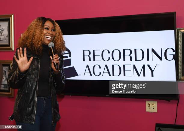 Yolanda Adams speaks during the Recording Academy's outreach brunch at the Stellar Awards on March 28 2019 in Las Vegas Nevada