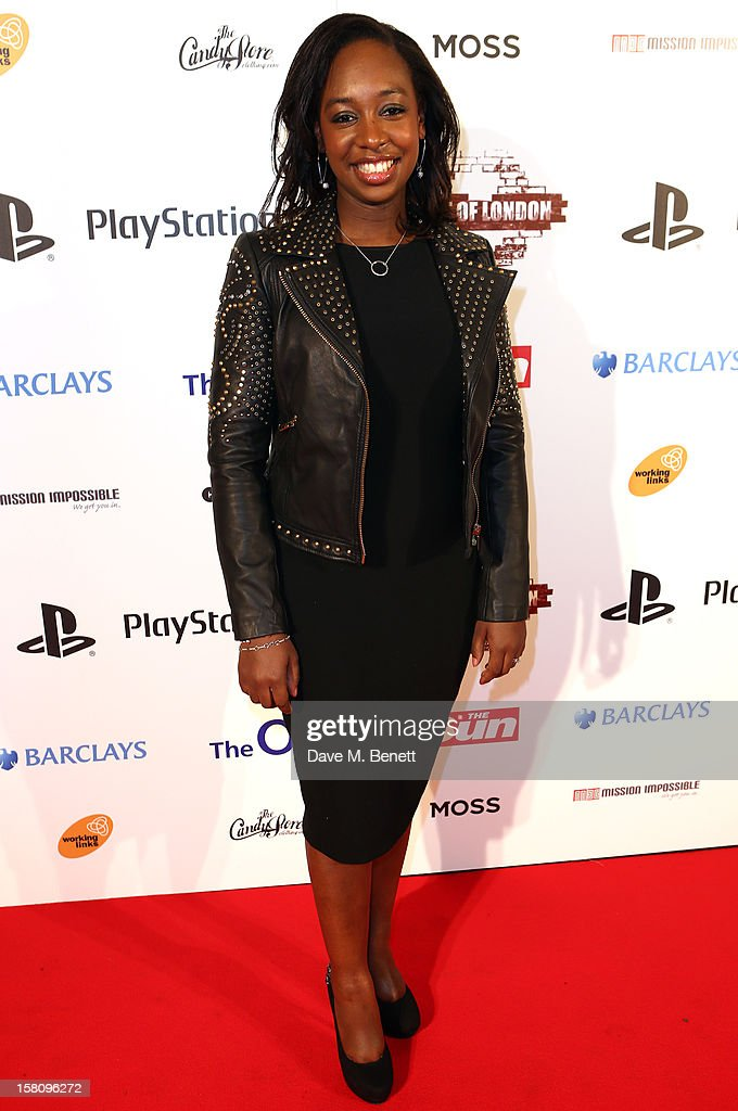 Yolanda Brown attends the Spirit Of London Awards in association with PlayStation at the O2 Arena on December 10, 2012 in London, England.