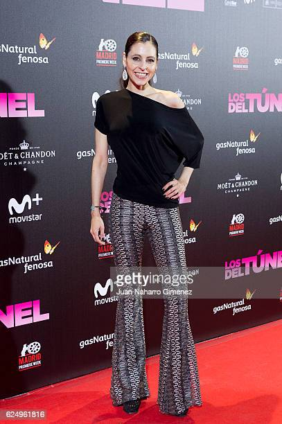 Yolanda Font attends 'Los Del Tunel' premiere during the Madrid Premiere Week at Callao Cinema on November 21 2016 in Madrid Spain