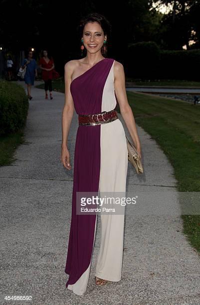 Yolanda Font attends MFShow catwalks at Costume Museum on September 8 2014 in Madrid Spain