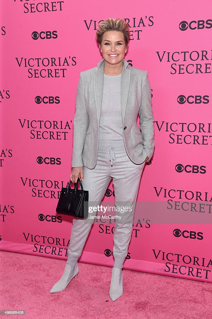 Yolanda Foster attends the 2015 Victoria's Secret Fashion Show at Lexington Avenue Armory on November 10, 2015 in New York City.