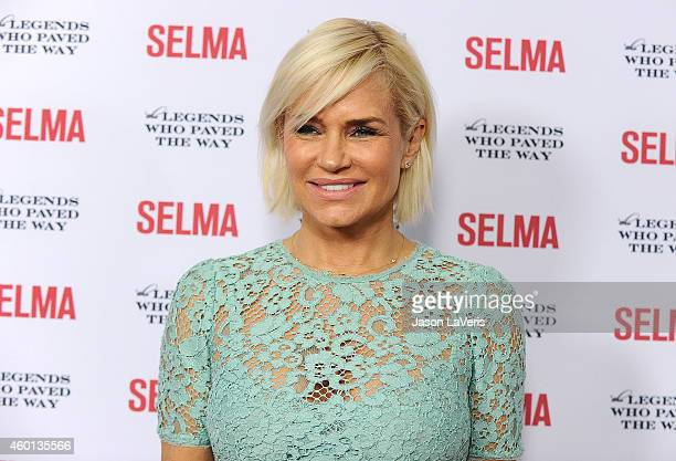 Yolanda Foster attends the Selma and the Legends Who Paved the Way gala at Bacara Resort on December 6 2014 in Goleta California