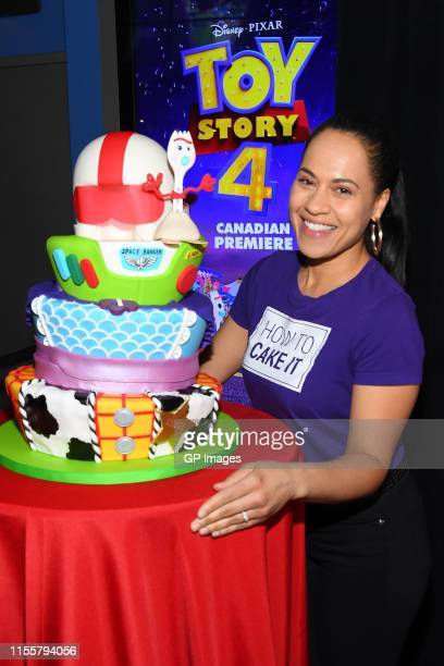 Yolanda Gampp attends the 'Toy Story 4' Canadian Premiere held at Scotiabank Theatre on June 13 2019 in Toronto Canada