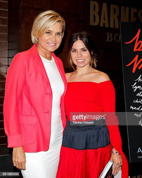 Yolanda Hadid and Ally Hilfiger attend Ally Hilfiger's book signing for 'Bite Me How Lyme Disease Stole My Childhood Made Me Crazy And Almost Killed...