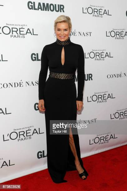 Yolanda Hadid attends the 2017 Glamour Women Of The Year Awards at Kings Theatre on November 13 2017 in New York City