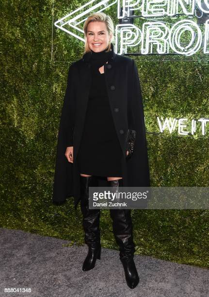 Yolanda Hadid attends the 2017 Pencils of Promise Gala at Central Park on December 7 2017 in New York City