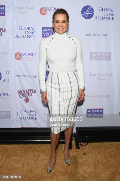 Yolanda Hadid attends the Global Lyme Alliance Fourth Annual New York City Gala on October 11 2018 in New York City
