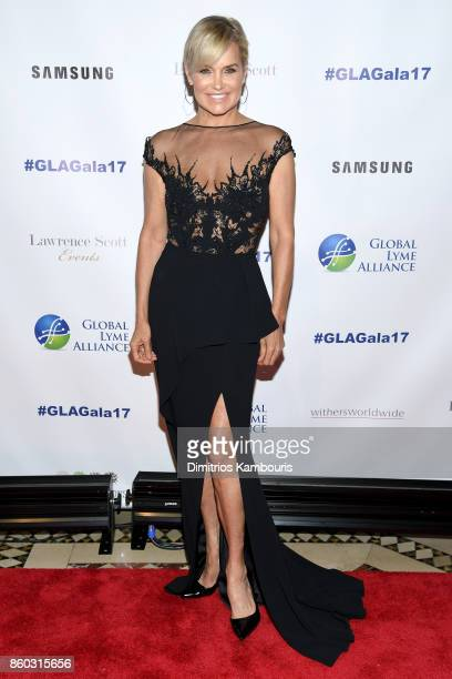 Yolanda Hadid attends the Global Lyme Alliance third annual New York City Gala on October 11 2017 in New York City