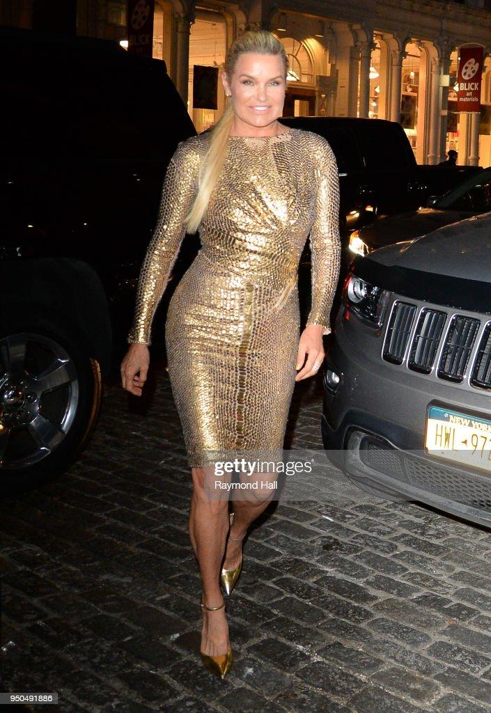 Celebrity Sightings in New York City - April 23, 2018