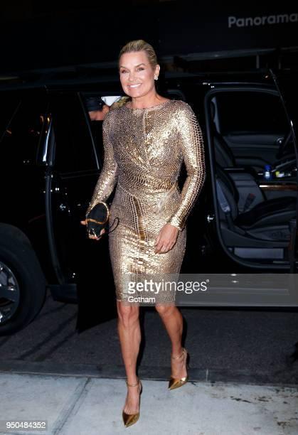 Yolanda Hadid is seen on April 23 2023 in New York City
