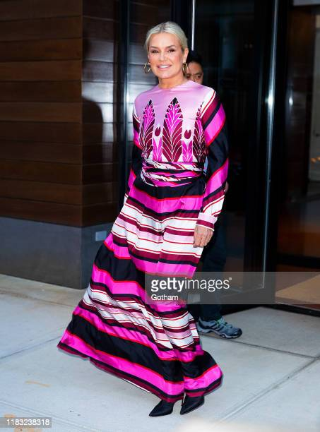 Yolanda Hadid on October 24, 2019 in New York City.