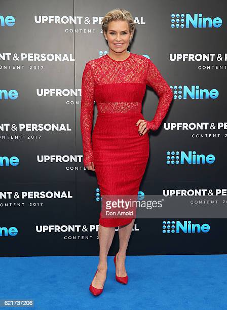 Yolanda Hadid poses during the Channel Nine Upfronts at The Star on November 8 2016 in Sydney Australia
