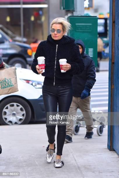 Yolanda Hadid seen out and about in Manhattan on December 13 2017 in New York City