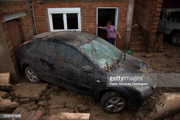 21 Flash Floods Hit Spanish Town Of Cebolla Pictures Photos