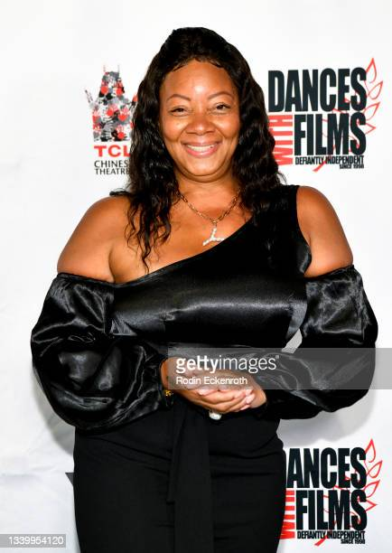 """Yolanda Pringle attends the Closing Night of Dances with Film Festival with premiere of """"Mister Sister"""" at TCL Chinese Theatre on September 12, 2021..."""