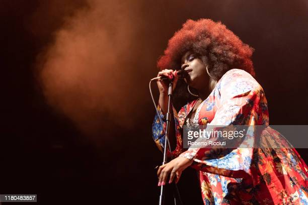 Yolanda Quartey aka Yola performs on stage at O2 Academy Glasgow on November 6 2019 in Glasgow Scotland