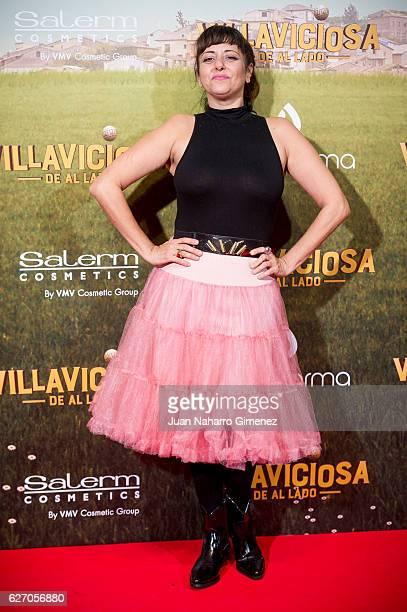 Yolanda Ramos attends 'Villaviciosa De Al Lado' premiere at Capitol Cinema on December 1 2016 in Madrid Spain