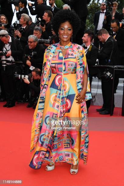 """Yolanda Ross attends the opening ceremony and screening of """"The Dead Don't Die"""" during the 72nd annual Cannes Film Festival on May 14, 2019 in..."""