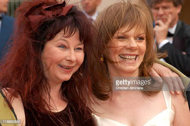 Yolande Moreau and guest during 2005 Cannes Film Festival 'Match Point' Premiere in Cannes France