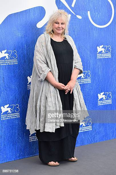 Yolande Moreau attends a photocall for 'A Women's Life' during the 73rd Venice Film Festival at Palazzo del Casino on September 6 2016 in Venice Italy