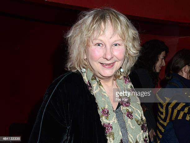 Yolande Moreau attends 'Les Lumieres 2014' Cinema Awards 19th Ceremony at Espace Cardin on January 20 2014 in Paris France