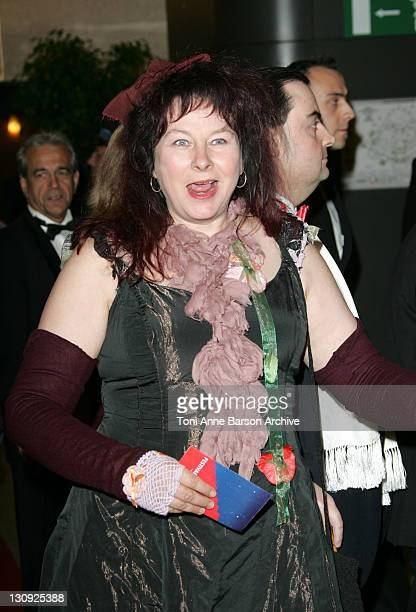 Yolande Moreau during 2005 Cannes Film Festival Opening Gala Dinner at Palais des Festival in Cannes France