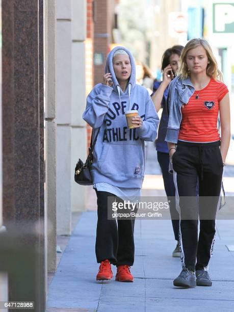 Yolandi Visser from 'Die Antwoord' is seen on March 01 2017 in Los Angeles California