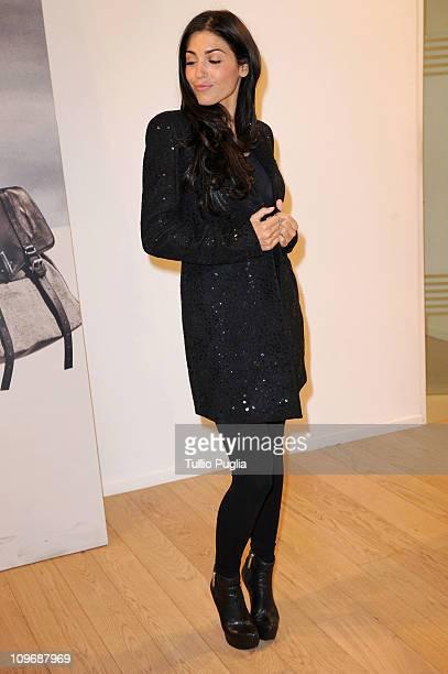 Yolanthe Sneijder Cabau visits Twin-Set store during Milan Fashion Week Womenswear Autumn/Winter 2011on February 24, 2011 in Milan, Italy.