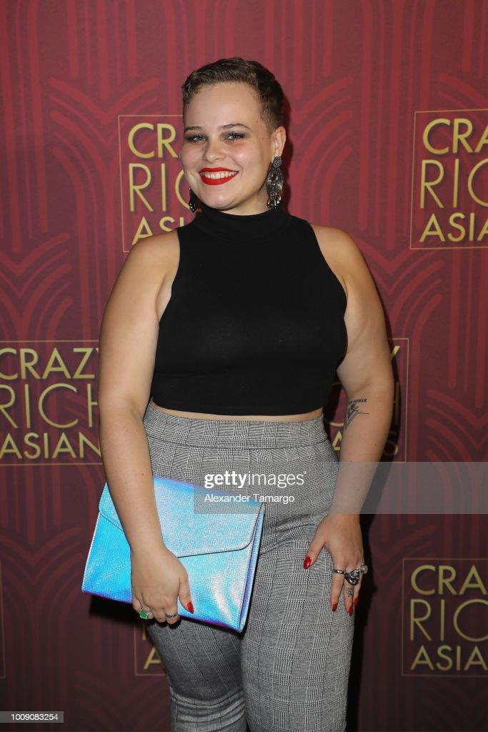 'Crazy Rich Asians' Miami Press Tour : News Photo