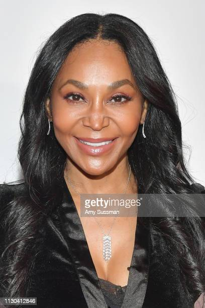 Yolonda Frederick attends the Hollywood Beauty Awards at Avalon Hollywood on February 17 2019 in Los Angeles California