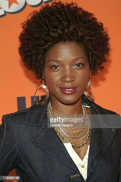 Yolonda Ross during HBO's Entourage Season 2 New York City Premiere Arrivals at The Tent at Lincoln Center in New York City New York United States