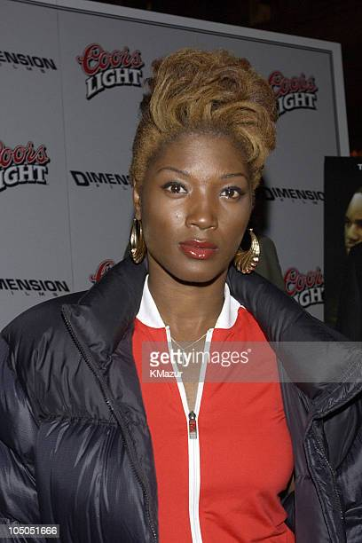 Yolonda Ross during Paid In Full Premiere New York at Loews 19th Street East Theather in New York City New York United States