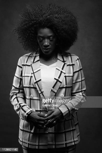 Yolonda Ross poses for a portrait at Morgan Stanley presents Alfre Woodard's 10th Annual Sistahs' Soiree on February 20 2019 in Los Angeles California
