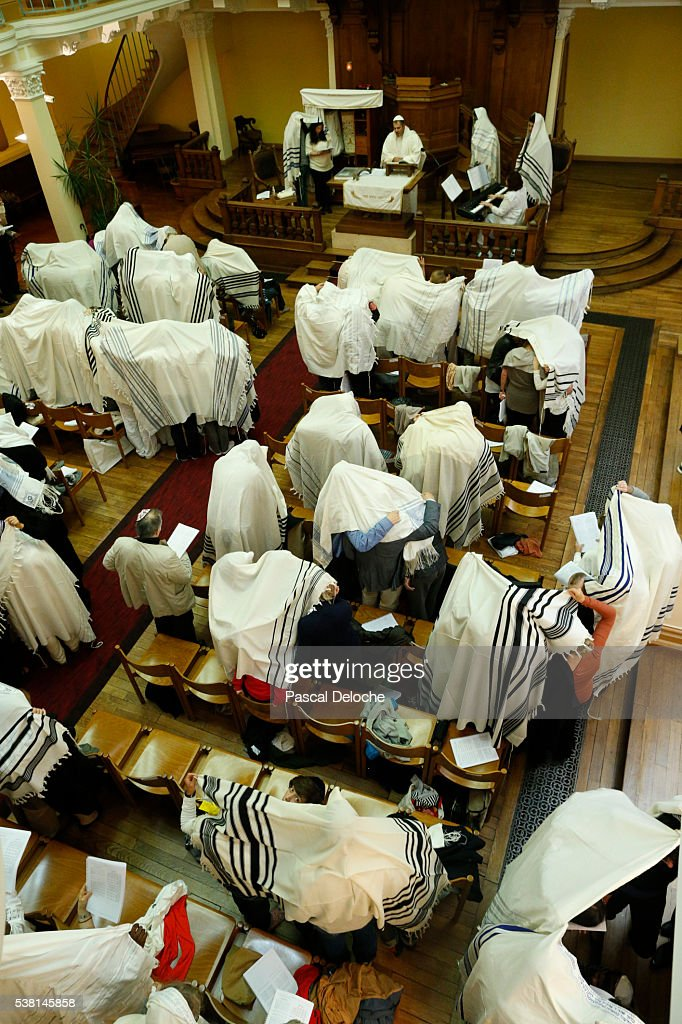 Yom Kippur also known as Day of Atonement, is the holiest day of the year for the Jewish people. : Stock Photo