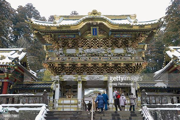 Yomei-mon (Sunset Gate) at Tosho-gu Shrine