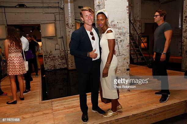 Yomi Abiola Fiancé attend ONE One Planet One Future at Bank Street Theater on September 13 2016 in New York City Yomi Abiola