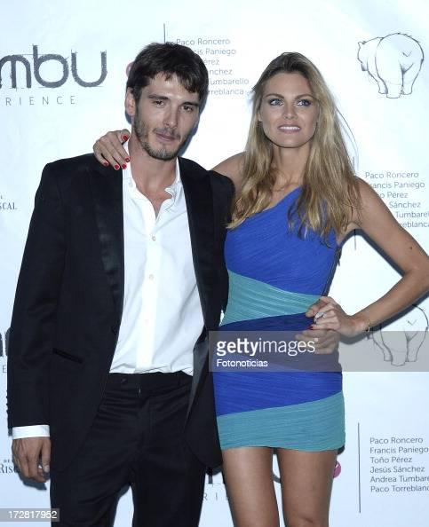 Yon Gonzalez and Amaia Salamanca attend Bambu Producciones