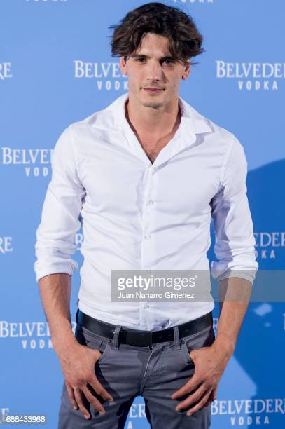 Yon Gonzalez attends the Belvedere Vodka party at the Pavon Kamikaze Teather on May 25 2017 in Madrid Spain