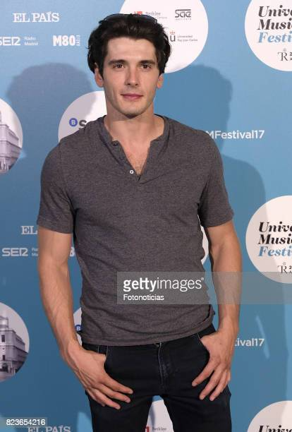 Yon Gonzalez attends the James Rhodes Universal Music Festival concert at The Royal Theater on July 27 2017 in Madrid Spain