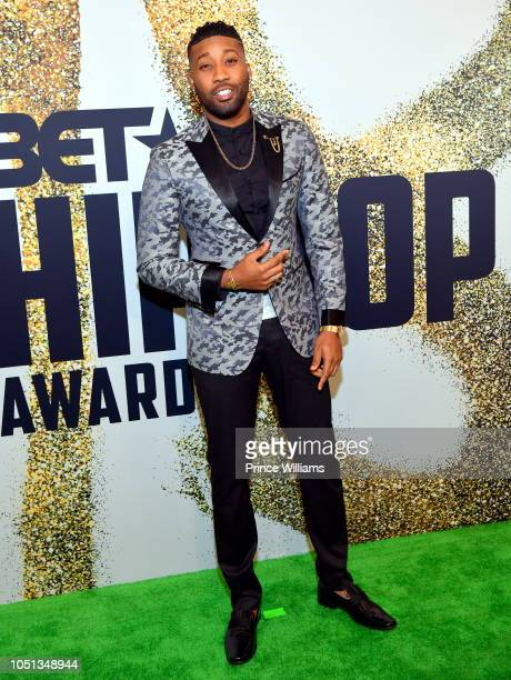 Yonathan Elias arrives at the BET Hip Hop Awards 2018 at Fillmore Miami Beach on October 6 2018 in Miami Beach Florida