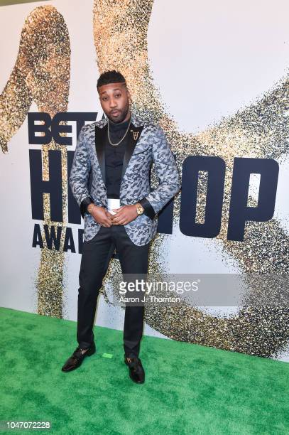Yonathan Elias arrives to the BET Hip Hop Awards at the Fillmore Miami Beach on October 6 2018 in Miami Beach Florida