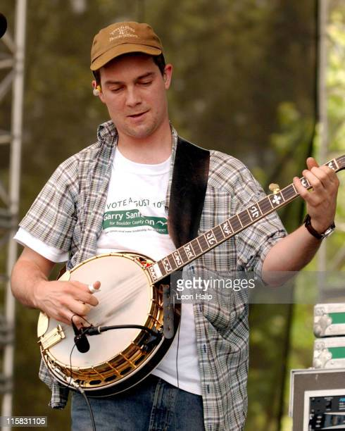 Yonder Mountain String Band during Bonnaroo Music Festival Day 1 June 11 2004 at Centeroo Performance Fields in Manchester Tennesse United States