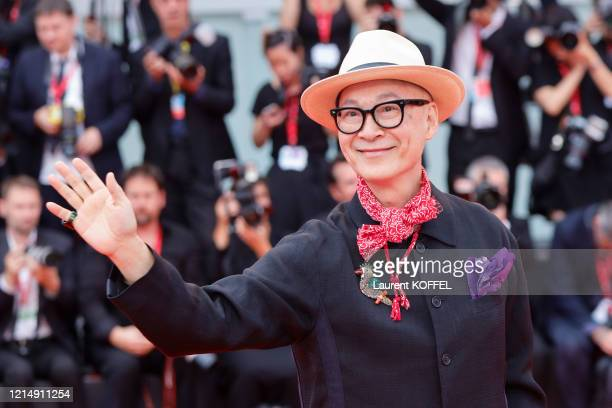 Yonfan walks the red carpet ahead of the closing ceremony of the 76th Venice Film Festival at Sala Grande on September 07 2019 in Venice Italy