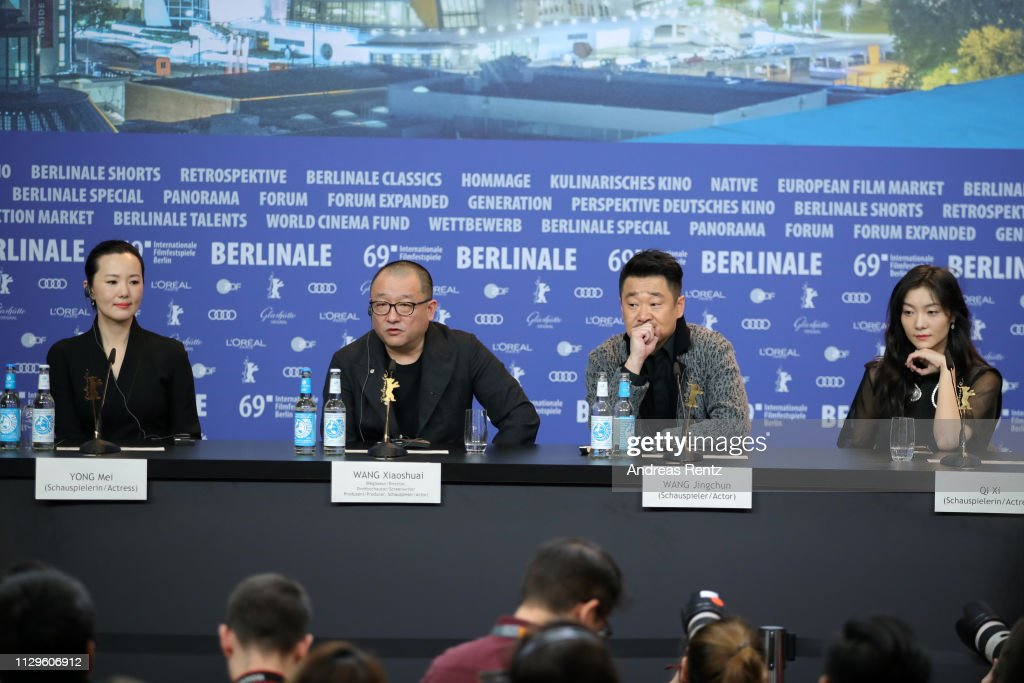 """""""So Long, My Son"""" Press Conference - 69th Berlinale International Film Festival : News Photo"""