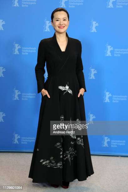 Yong Mei poses at the 'So Long My Son' photocall during the 69th Berlinale International Film Festival Berlin at Grand Hyatt Hotel on February 14...