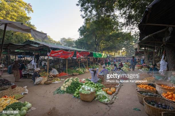 Yong U Market, Bagan, Myanmar