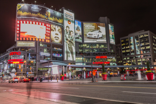 Yonge and Dundas square 458413595