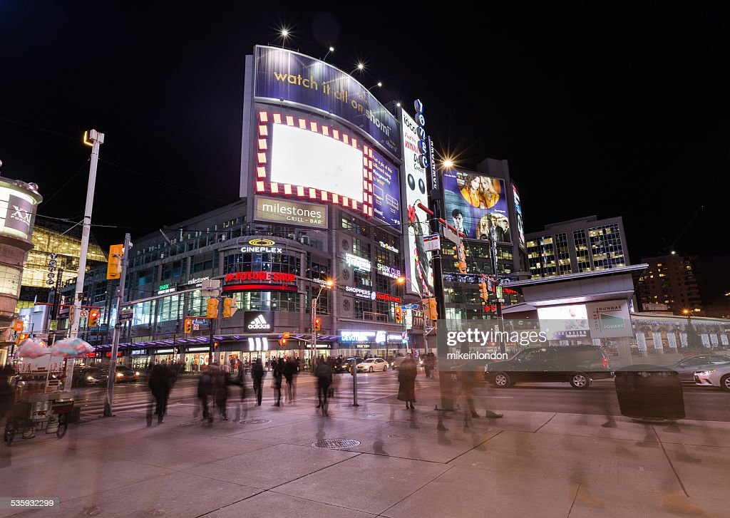 Yonge and Dundas Square : Stock Photo