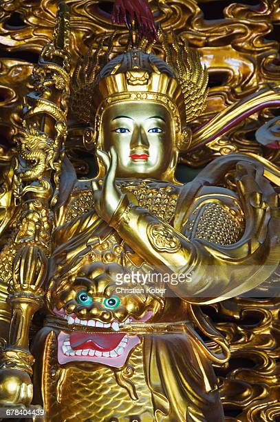 yonghe gong tibetan buddhist lama temple, beijing, china, asia - tibetan culture stock pictures, royalty-free photos & images